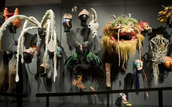 Аксессуары костюмов знаменитого Cirque du Soleil