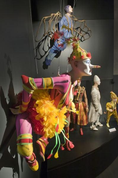 Костюмы  Cirque du Soleil