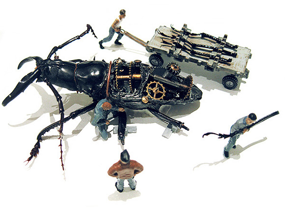 Мертвые жуки на службе человека в проекте Micromachina