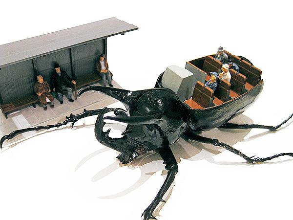 Механизированные жуки в проекте Micromachina