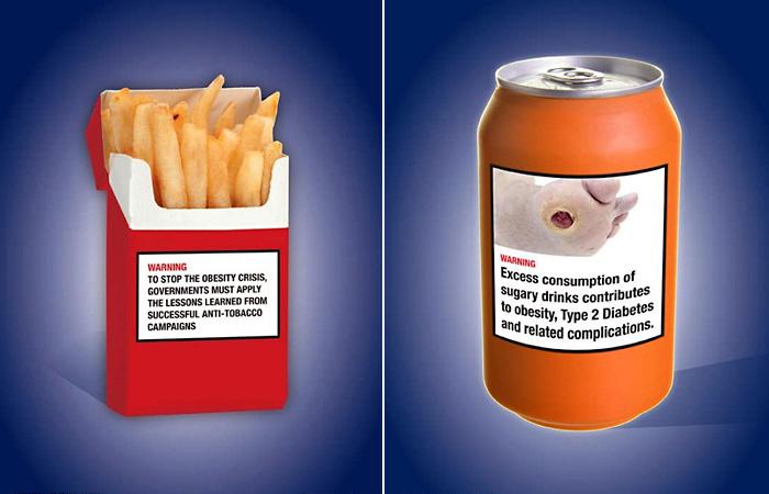 Социальная реклама о вреде фастфуда