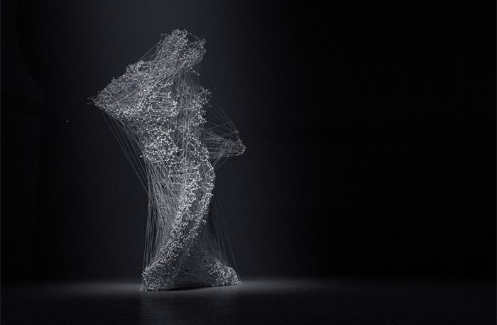 Завораживающая Асфиксия: потрясающе красивый танец, оцифрованный на компьютере