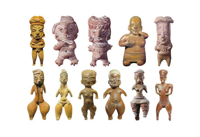 Скульптури Богинь пізнього бронзового століття