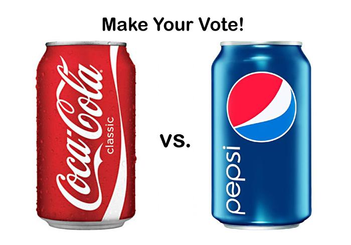 Рекламное противостояние американских компаний The Coca-Cola Company  и PepsiCo.