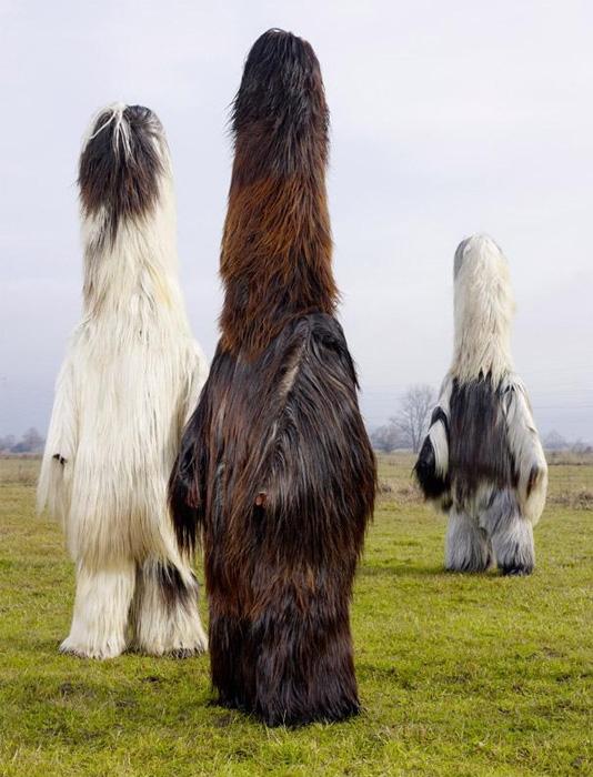 Языческие зооморфные костюмы