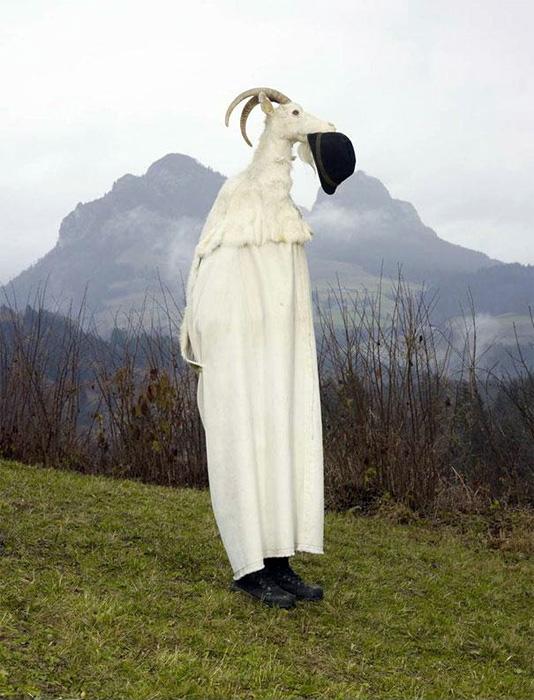 Костюмы для языческих ритуалов современной Европы  в фотопроекте «Wilder Mann»
