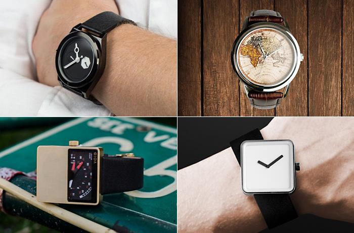 Дизайнерские часы - оригинальный подарок на Новый год