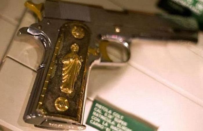 Оружие босса мафии