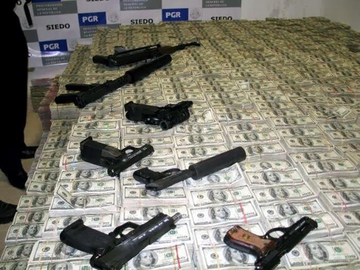 Оружие и деньги наркобарона