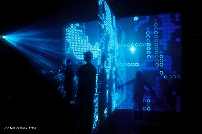 Инсталляция «Эдем» Джона Маккормака