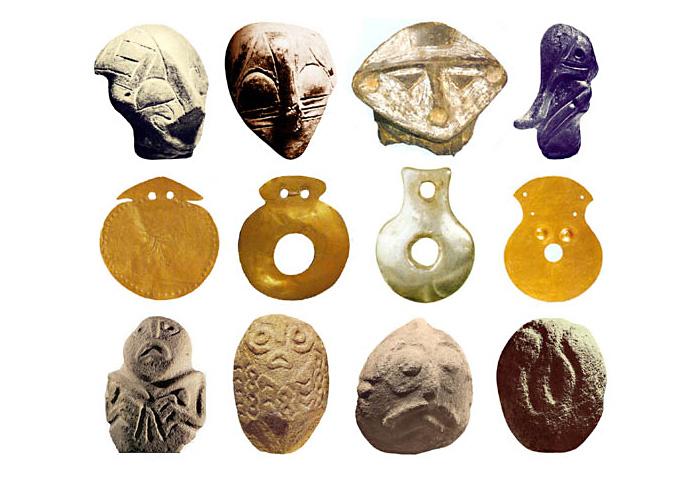 Скульптури Богинь з Європи