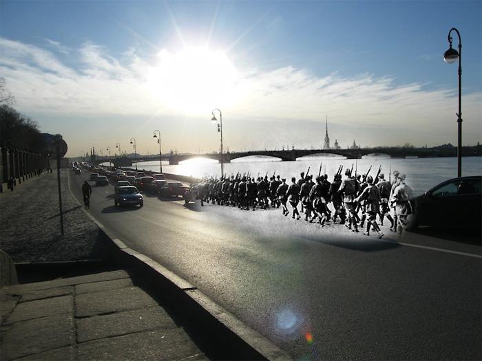 Вторая Мировая война в фотопроекте Сергея Ларенкова