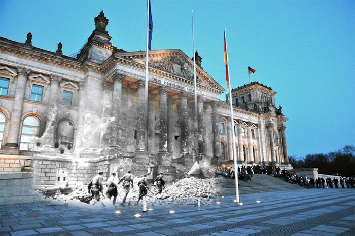 Призраки Второй Мировой войны в фотопроекте Сергея Ларенкова