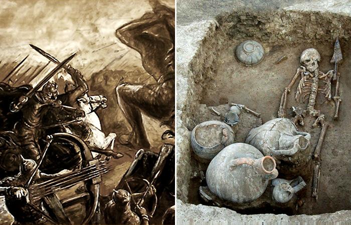Кто создал уникальный кубок из золота из стекла, найденный на юге России.