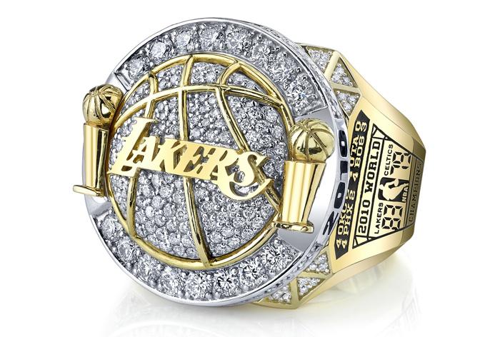 Чемпионский перстень от Jason Frasheben для Los Angeles Lakers