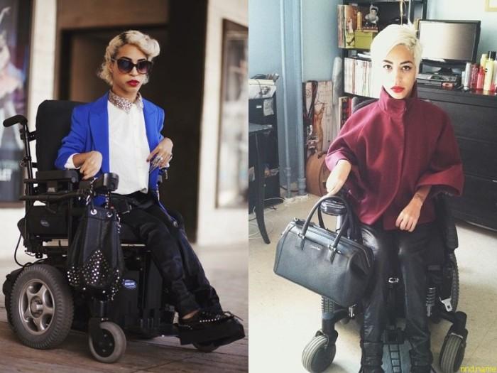 Болезнь - не приговор: модель в инвалидном кресле Jillian Mercado.