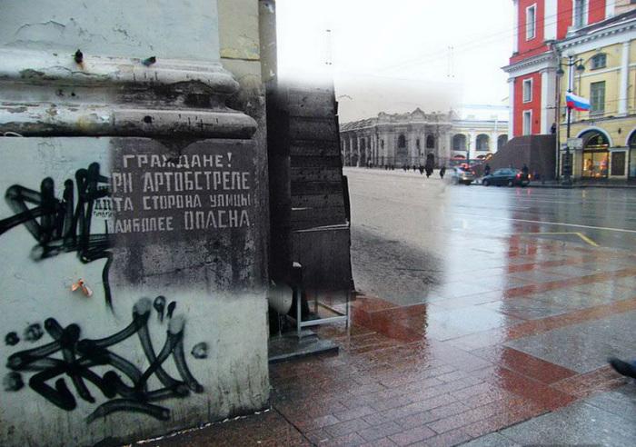 Фото блокадного Ленинграда и Санкт-Петербурга
