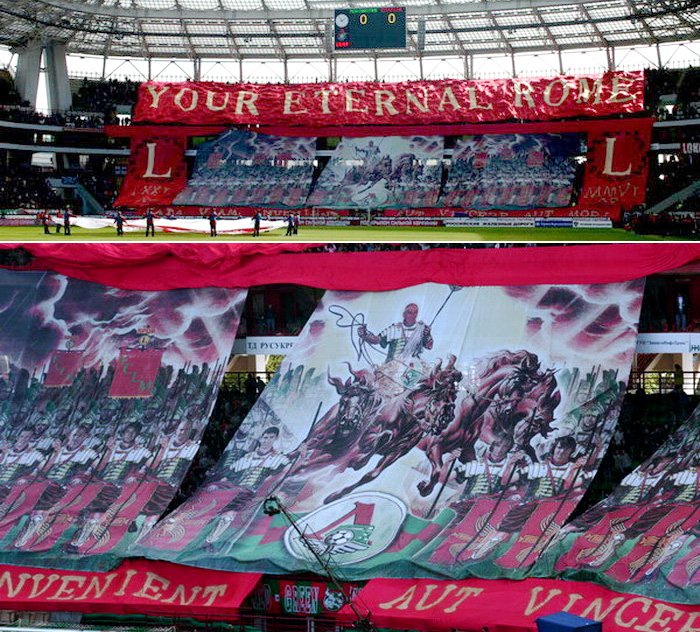 Футбольный матч Локомотив (Москва) - Спартак (Москва). Черкизово, 2006 год.