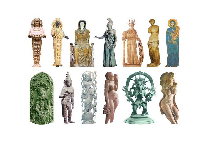 Скульптури Богинь нашої ери
