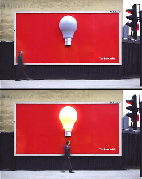 Реклама журнала Экономист в Москве