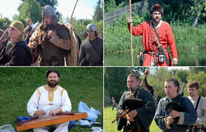 Театрализованная инсценировка исторических событий, происходивших в древней Ладоге в IX веке