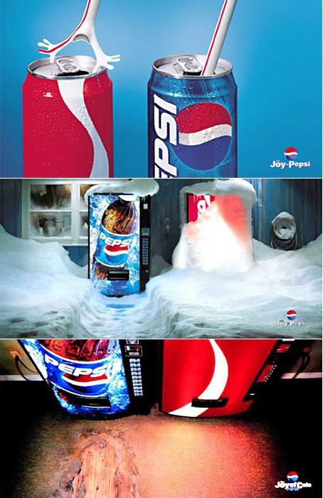 Новое поколение выбирает… Рекламное противостояние Coca-Cola и Pepsi