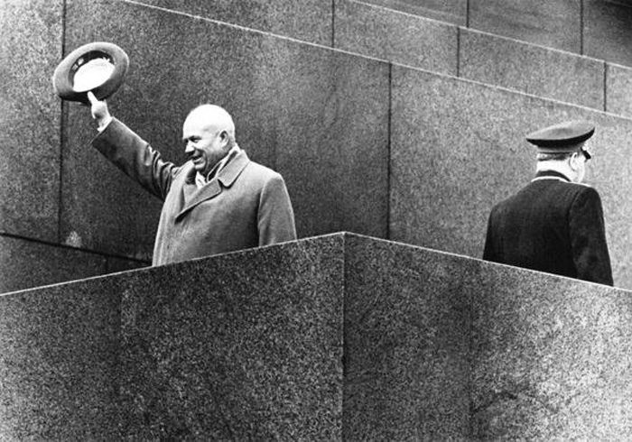 1 Мая 1964 год. Хрущёв - В последний раз на трибуне Мавзолея.