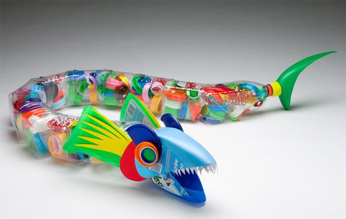 Оригинальные изделия своими руками из пластиковых бутылок