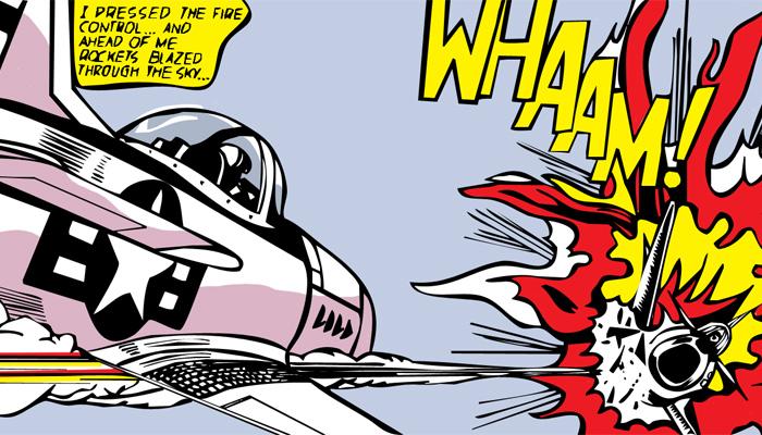 Рой Лихтенштейн (Roy Lichtenstein) 'Whaam!'