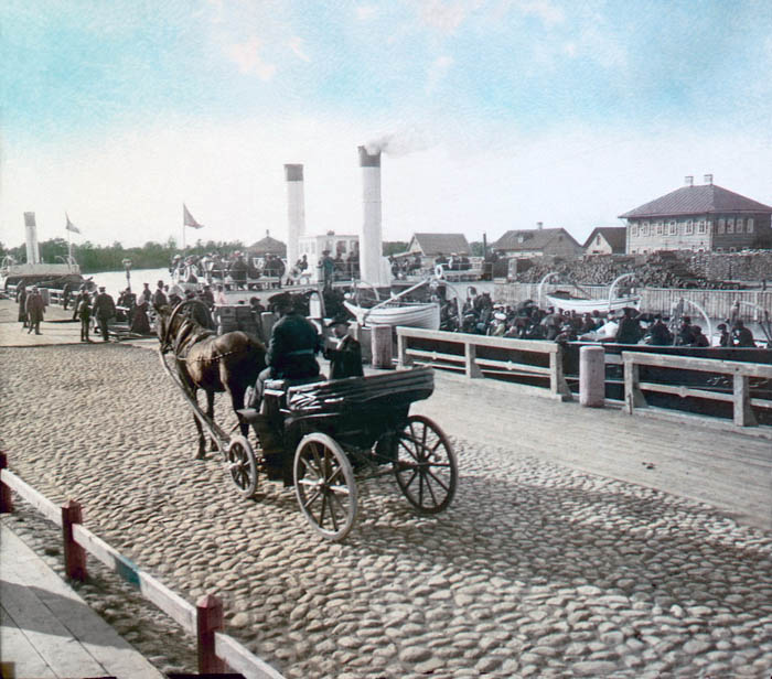 Портовый извозчик. Санкт-Петербург, 1896 г.