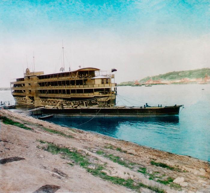 Плавучий отель. Нижний Новгород, 1896 г.
