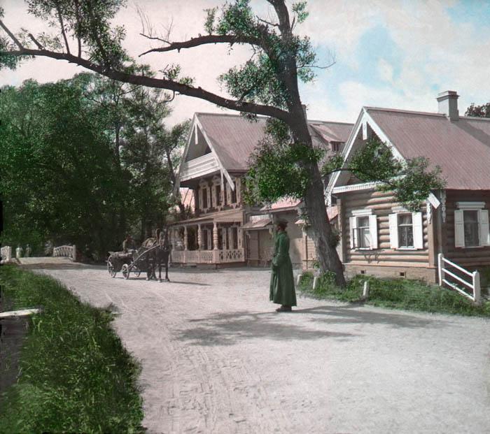 Летняя резиденция царя Александра II. Петергоф, 1896 г.