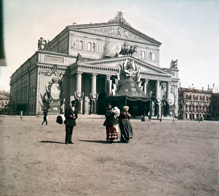 Большой театр. Москва, 1896 г.