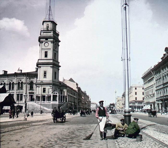 Невский проспект. Санкт-Петербург, 1896 г.