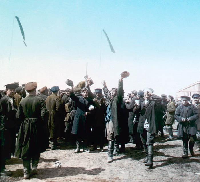 Народные гуляния на Ходынском поле 30 мая 1896 года. Москва, 1896 г.