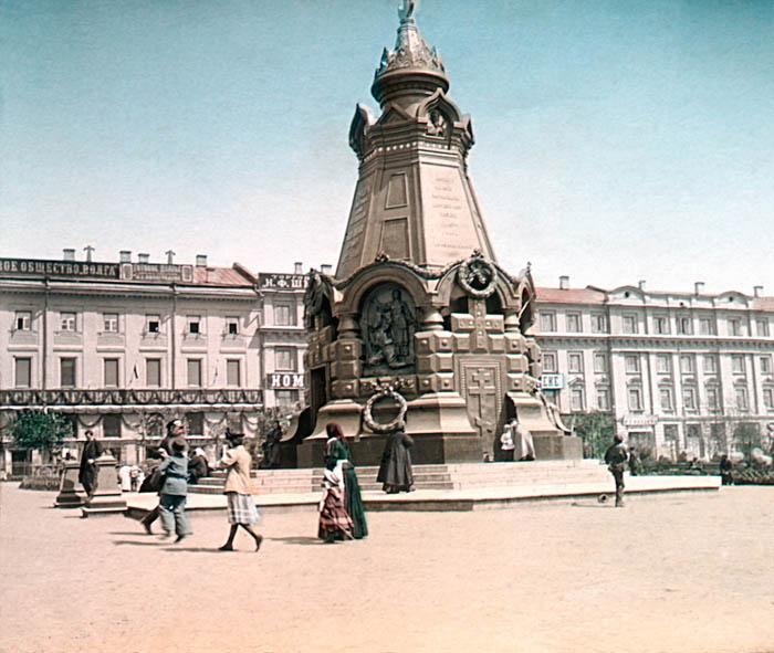 Памятник героям Плевны. Москва, 1896 г.
