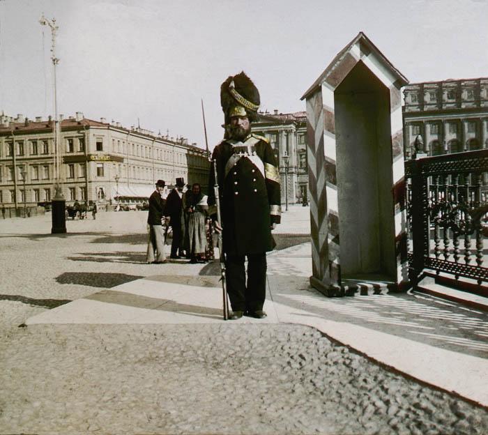 Постовой. Санкт-Петербург, 1896 г.
