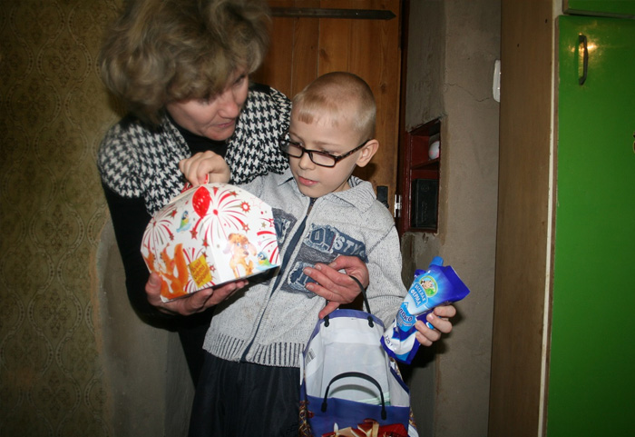 Русские никогда не приходят в чужой дом без подарка.