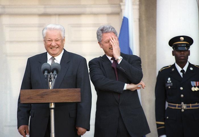 Русские любят постоянно рассказывать анекдоты по поводу и без.