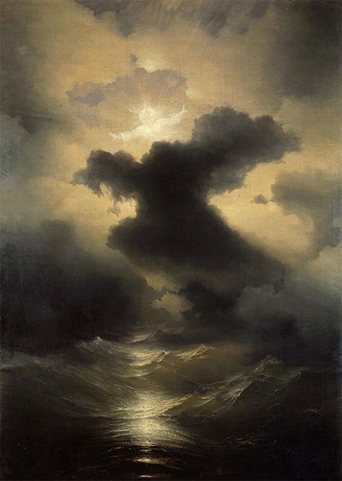 Полотно с демонами, или «Сотворение мира» («Хаос») (1841)