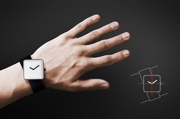 Дизайнерские часы Slip Nonlinear