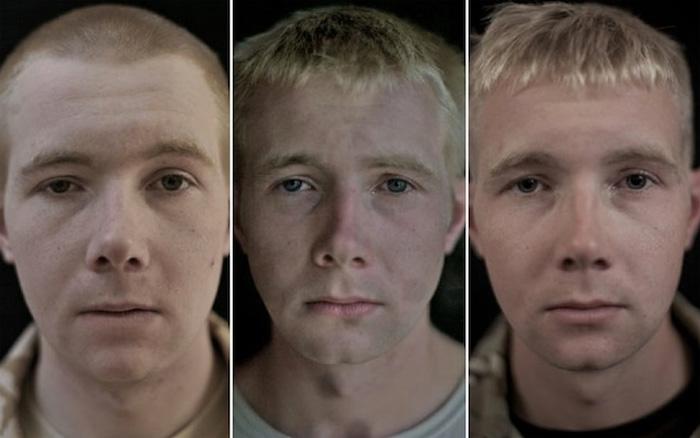 Рядовой Sean Patterson, 19 лет.