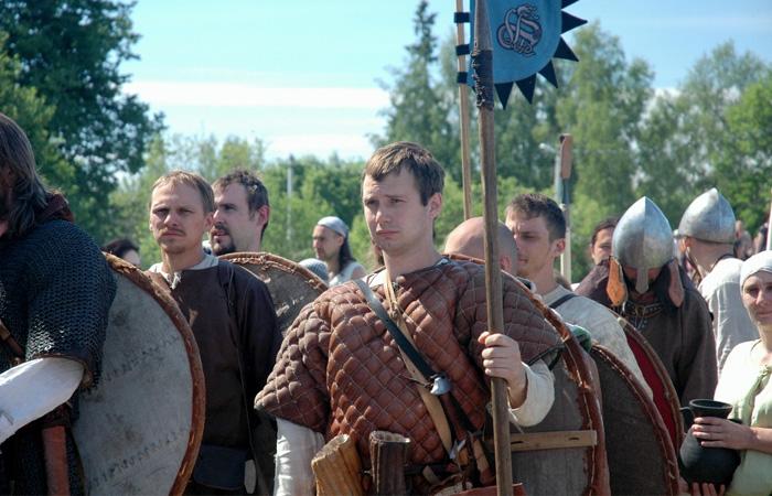 Исторический фестиваль «Первая Столица Руси» в Старой Ладоге