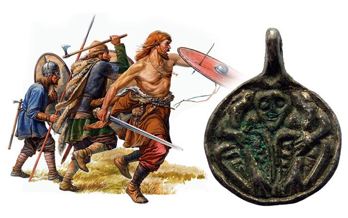 Скандинавские воины-викинги