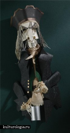 Скульптуры вырезанные из бумаги