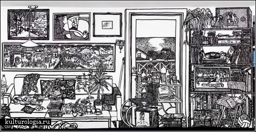 Современная живопись:на стене и на стекле