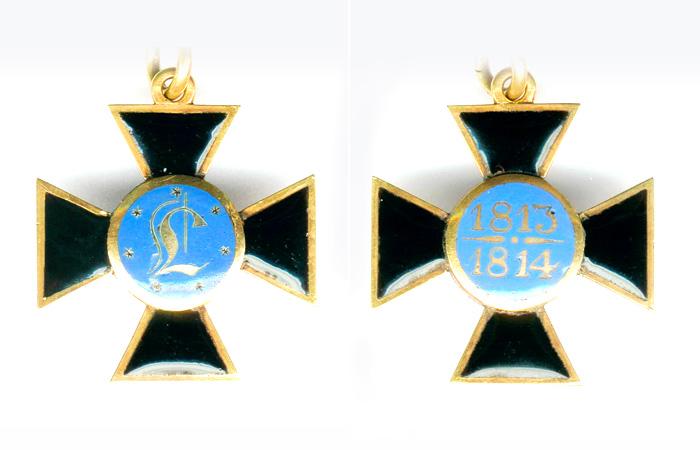 Орден Луизы  учрежден Фридрихом Вильгельмом III