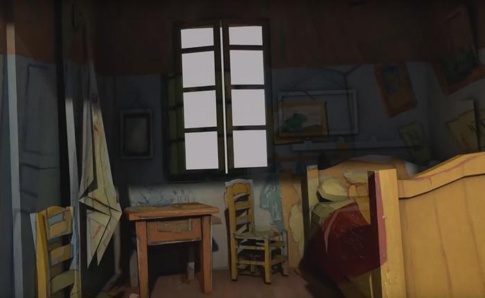 Увлекательное 3D путешествие в мир Ван Гога.