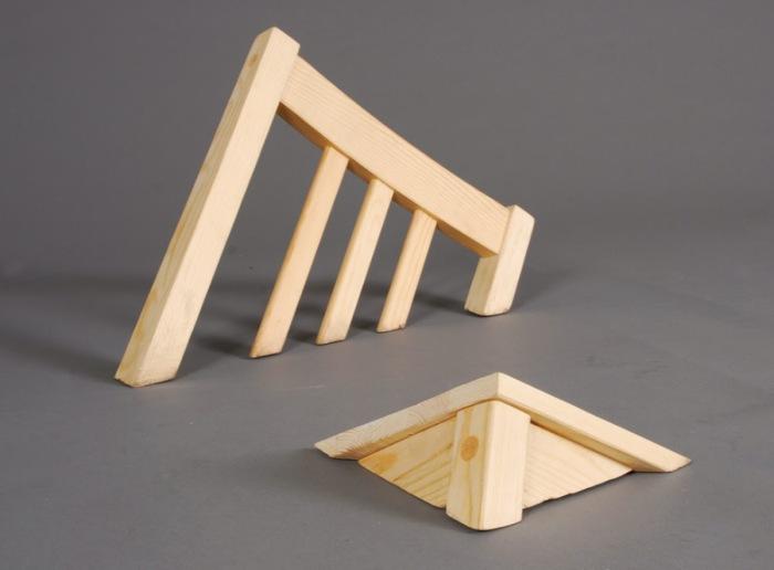 Утопающий стул от Lennart Van Uffelen.