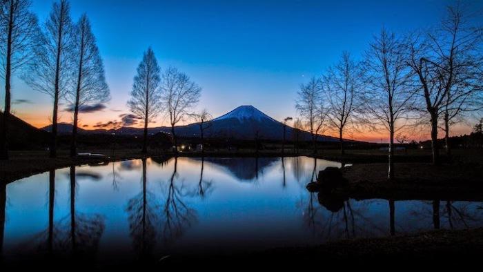 Чувственные и эмоциональные пейзажи Японии сделанные фотографом-любителем Хиденобу Сузуки (Hidenobu Suzuki).